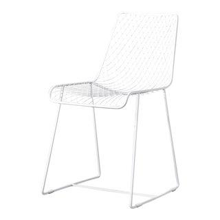 C'est Beau1872 White Fishnet Dining Chair For Sale