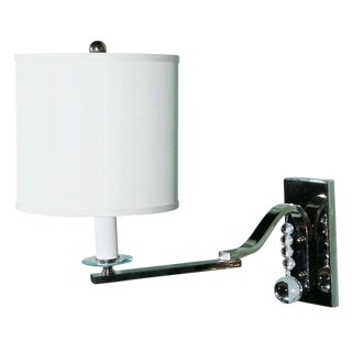 Paul Marra Swing-Arm Sconce For Sale