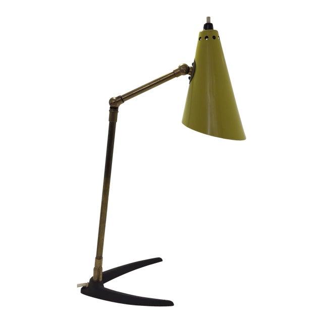 1950s Mid-Century Modern Stilnovo Table Lamp For Sale