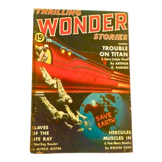 1941 Thrilling Wonder Stories, Slaves of the Life Ray For Sale