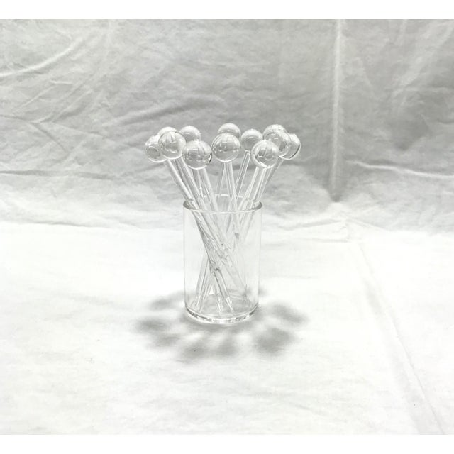 Lucite Sheffield Cheese & Cracker Serving Set, 18 Pcs. For Sale - Image 9 of 12