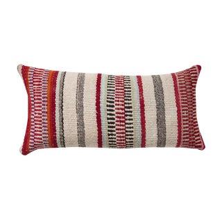 Aplaca Wool Vertical Striped Peruvian Pillow