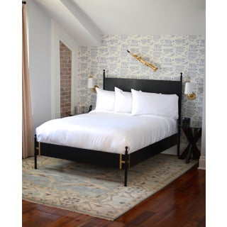 2010's Modern Josephine Metal Bed Frame Preview