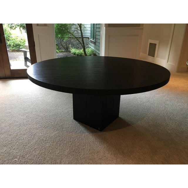 Armani Casa Black Round Dining Table - Image 7 of 11
