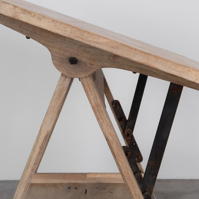 1920s 1920s Belgian Drawing Table For Sale - Image 5 of 6
