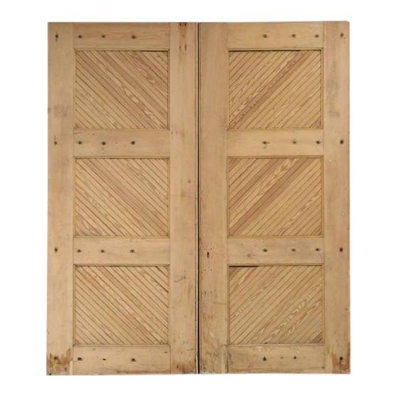 1890s Antique American Barn or Garage Doors For Sale