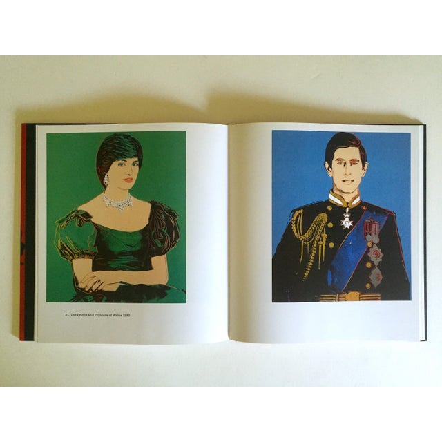 """Orange """" Andy Warhol Portraits """" Rare 1st Edtn Vintage 1993 Iconic Collector's Volume Hardcover Book For Sale - Image 8 of 13"""