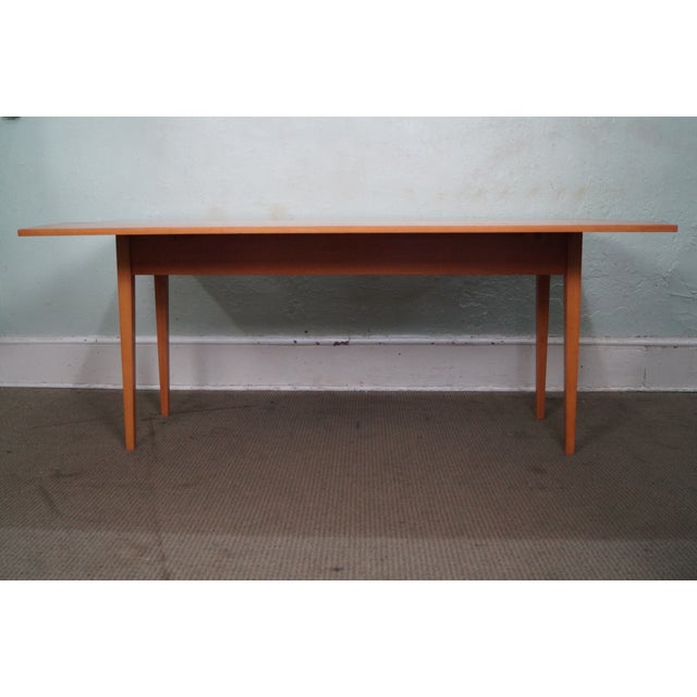 Maple Drop Leaf Harvest Dining Table - Image 2 of 10