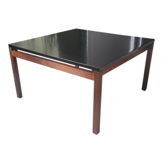"Modern Lewis Butler Florence Knoll 30"" Square Coffee Table For Sale"