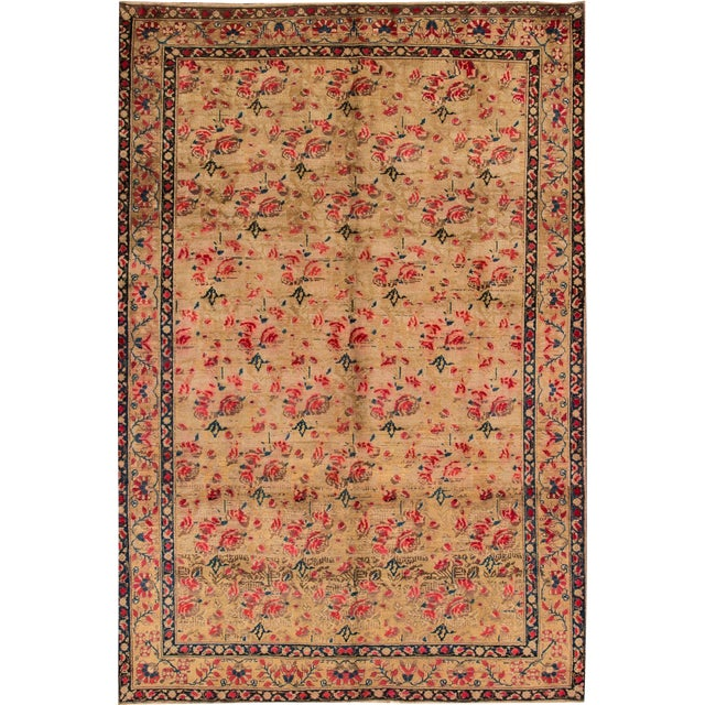 "Apadana - Basserabian Style Rug. 6'5"" x 9'6"" For Sale"