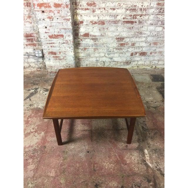 1980s Scandinavian Modern Dux Sweden Teakwood Coffee Table For Sale - Image 13 of 13