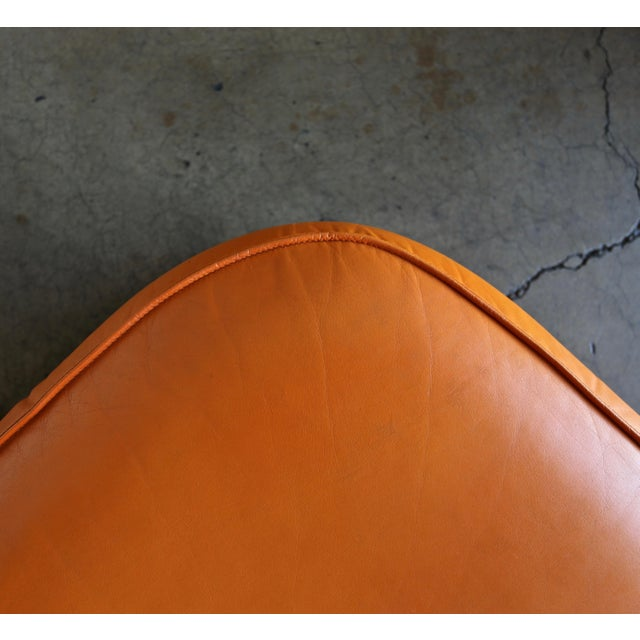 I4 Mariani Leather Ottomans, 1975 - a Pair For Sale In Los Angeles - Image 6 of 7