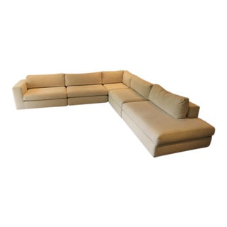 Cantoni Beige Upholstered 5 Piece Sectional