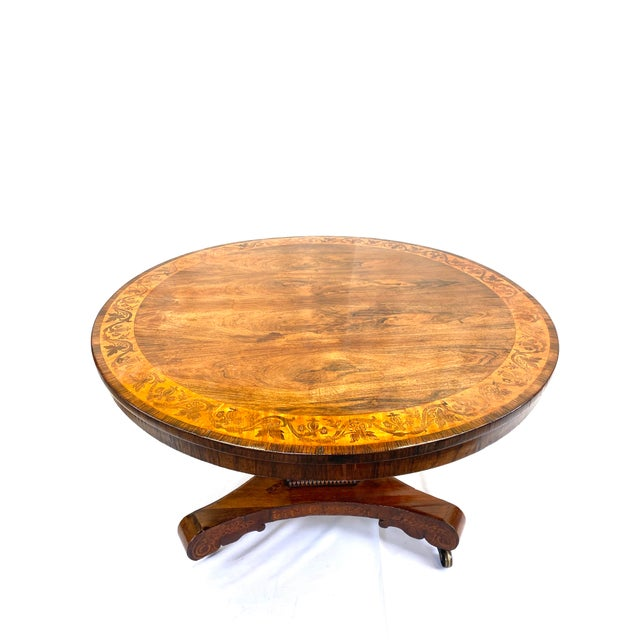 Wood Late 19th Century English Regency Breakfast Table For Sale - Image 7 of 7