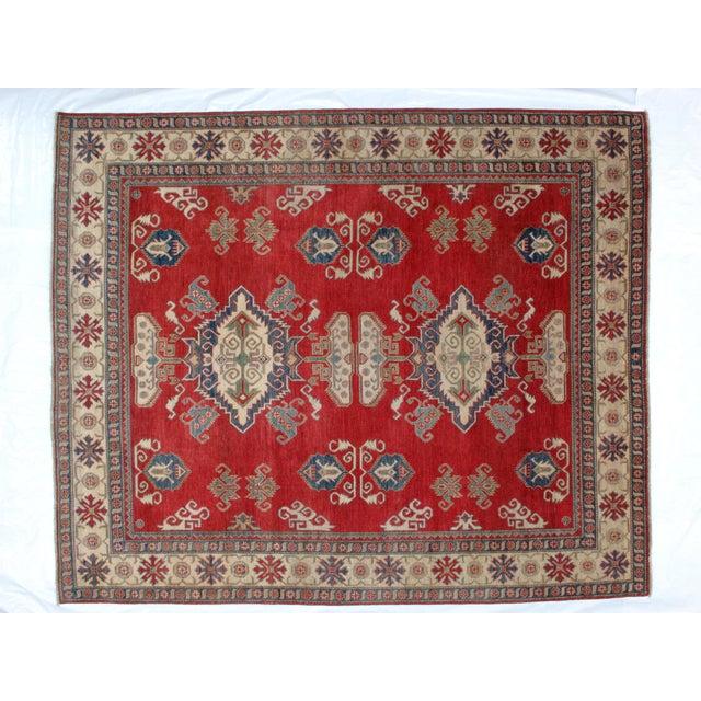 "Traditional Leon Banilivi Kazak Carpet - 8'6"" X 10'2"" For Sale - Image 3 of 8"