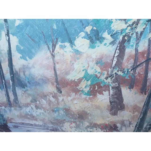 1950s Lee Reynolds Vanguard Studios Oil Painting For Sale - Image 5 of 10