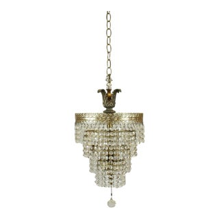 Four Layer Mini Crystal Chandelier