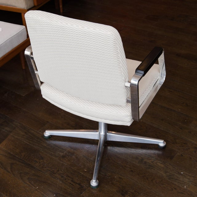 Vintage Office Swivel Chairs - Pair - Image 5 of 6