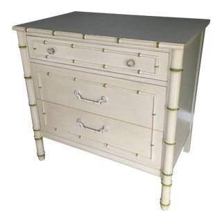 Thomasville Faux Bamboo Chest of Drawers