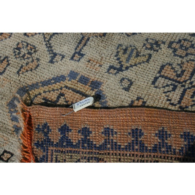 Early 20th Century Antique Oushak Waterloo Design Rug - 11′9″ × 15′5″ For Sale - Image 12 of 13