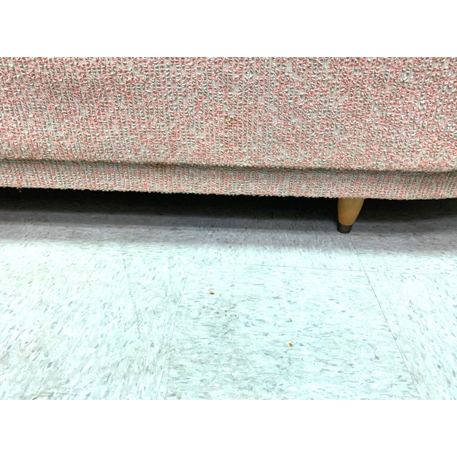 Mid-Century Modern Vintage 1950's Mid-Century Modern Fainting Couch For Sale - Image 3 of 13