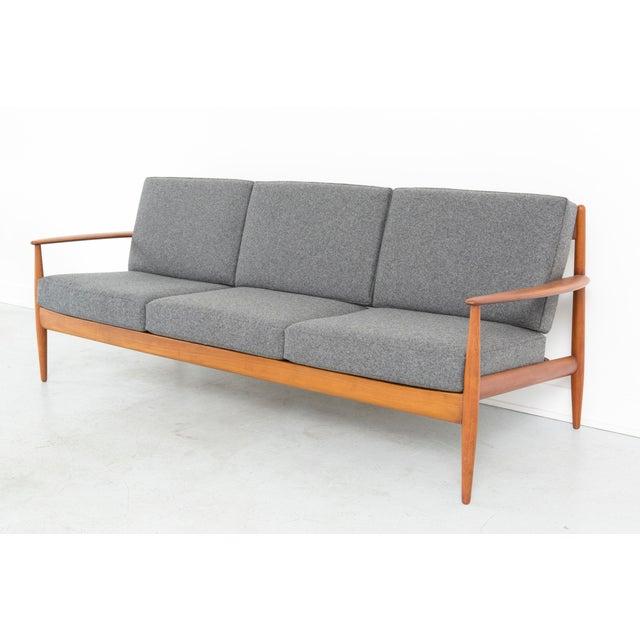 Grete Jalk for France + Daverkosen Teak Wood Sofa - Image 11 of 11