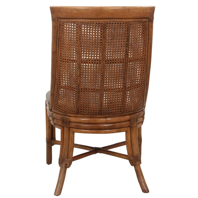 Bamboo Dining Chairs - Set of 8 For Sale In Tampa - Image 6 of 9