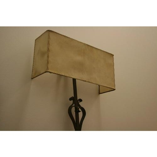 Traditional 18th Century Iron Fragment Made Into Sconce For Sale - Image 3 of 6