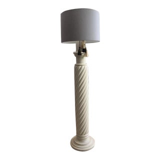 Michael Taylor Style Plaster Floor Lamp For Sale