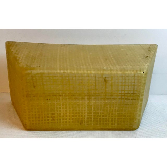 Vintage Mid Century Lucite and Twine Planter For Sale In Dallas - Image 6 of 7