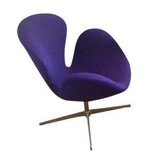 Arne Jacobsen for Fritz Hansen Danish Modern Swan Chair