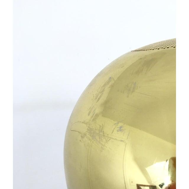 Vintage Brass Arc Floor Lamp - Image 6 of 7