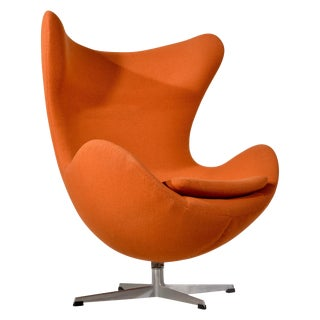 Swivel Egg Chair by Arne Jacobsen For Sale