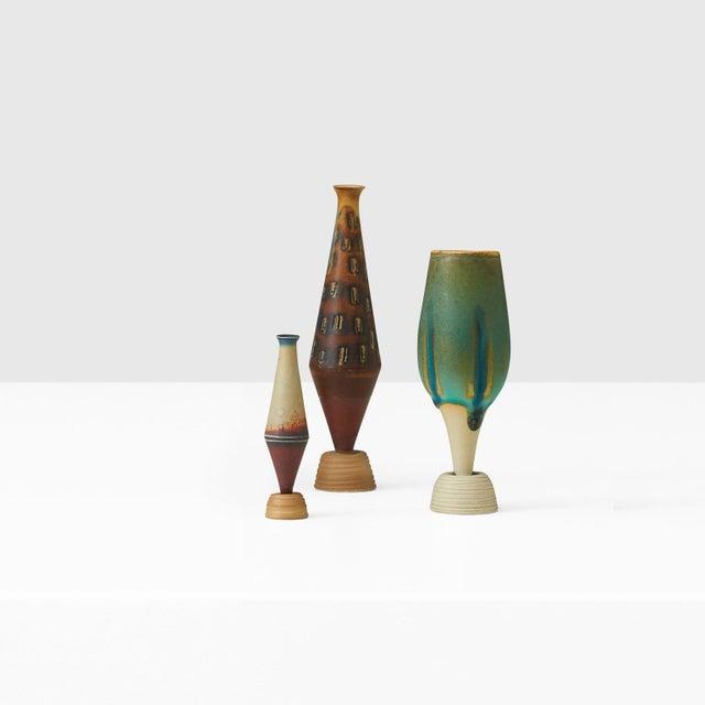 1940s Wilhelm Kage Mini-Spirea vase For Sale - Image 5 of 6