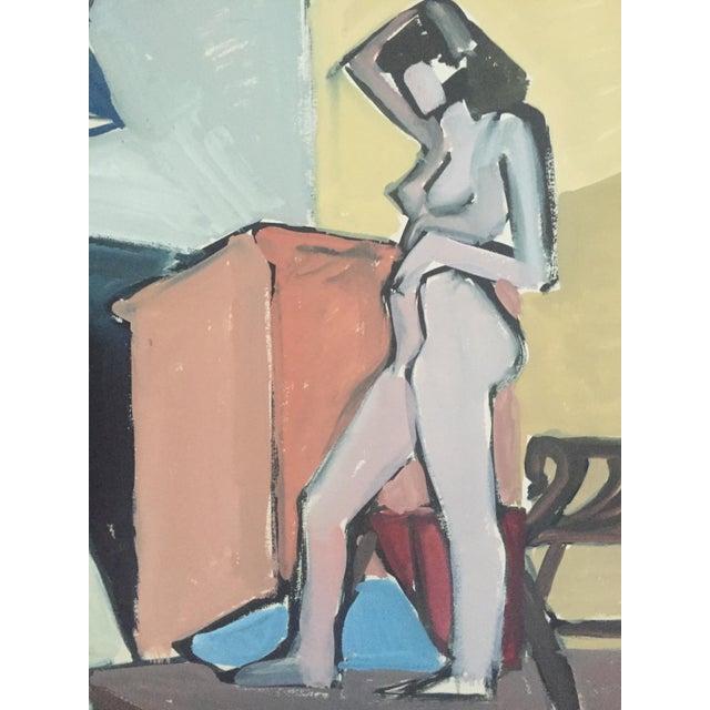 1940s-50s Bay Area Figurative Female Nude - Image 2 of 7