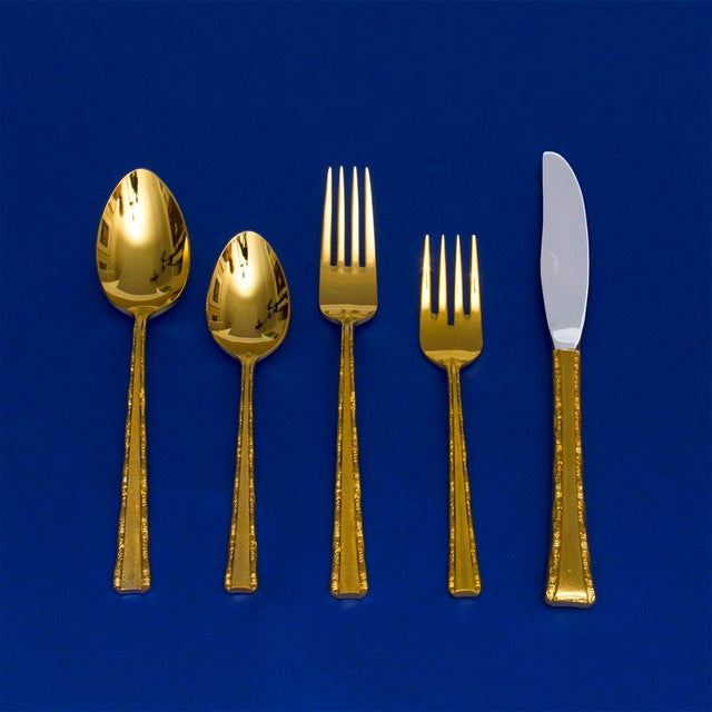 Vintage Gold Plated Dinner Service - 104 Pieces - Image 5 of 5