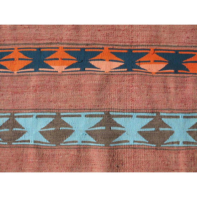 "Vintage Anatolian Handmade Kilim Runner-3'x11'4"" For Sale - Image 9 of 13"