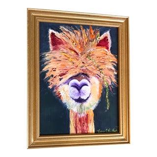 Original Emu Oil Painting For Sale