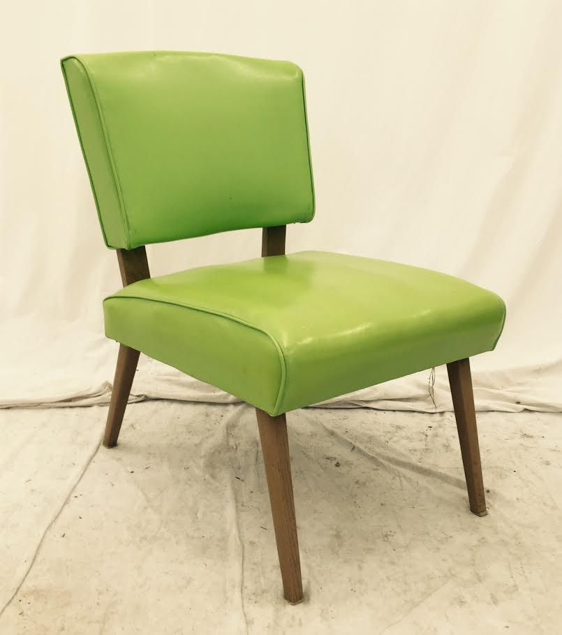 Vintage Mid Century Modern Slipper Side Chair   Image 9 Of 9