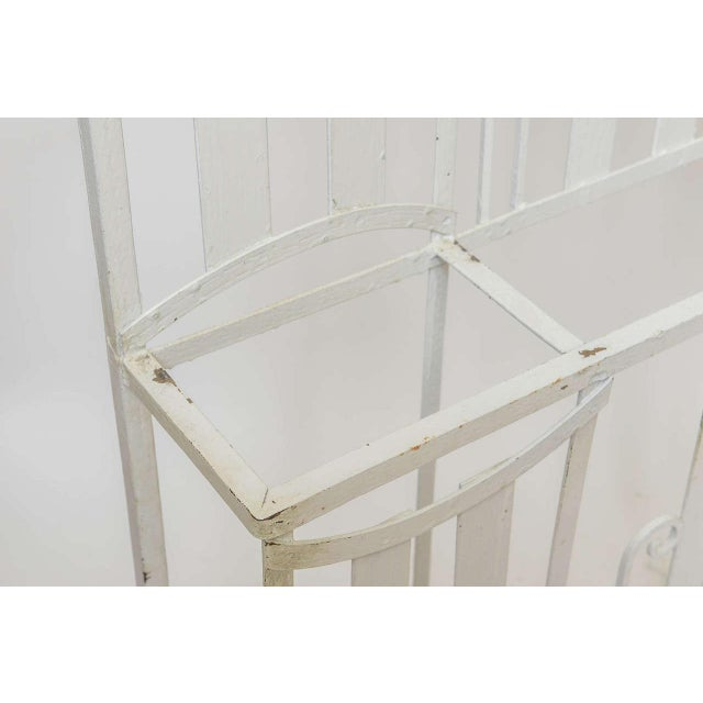 Art Deco French Iron Entry Hall Stand For Sale - Image 10 of 11