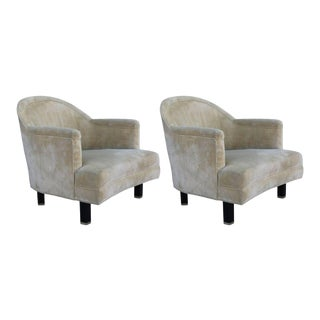 Pair of Lounge Chairs by Harvey Probber For Sale