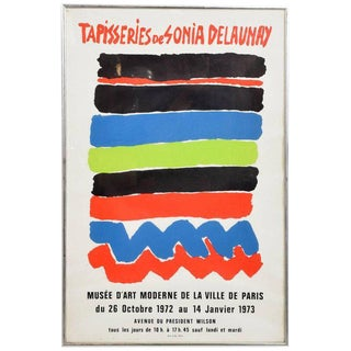Tapisseries De Sonia Delaunay 1972 Paris Litho Poster For Sale