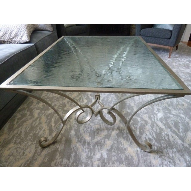 Century Furniture Glass Top Coffee Table - Image 2 of 5
