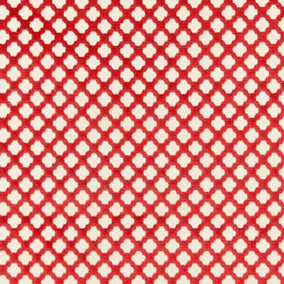 Scalamandre Pomfret Fabric in Coral For Sale