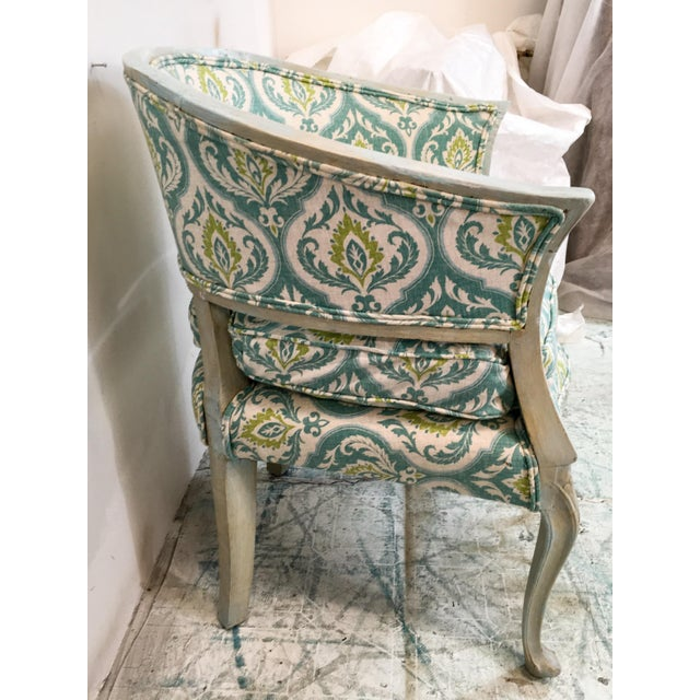 Italian Italian Painted Arm Chair For Sale - Image 3 of 8