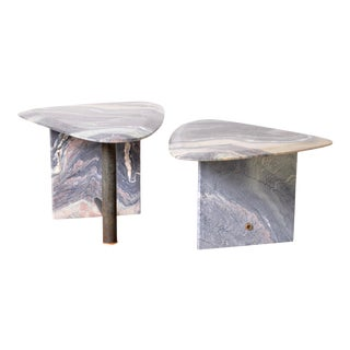 1980s, Marble Table Set, Switzerland For Sale