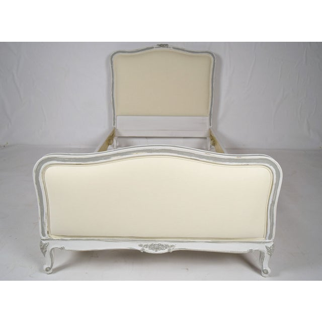 Antique French Louis XV Twin Bedframes - A Pair - Image 3 of 11