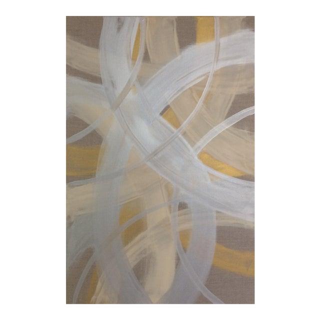 'CELESTiNE' original abstract painting by Linnea Heide - Image 1 of 8