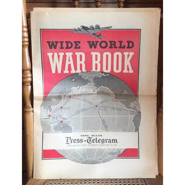Vintage World War II Political Newspaper Art Print - Image 2 of 6