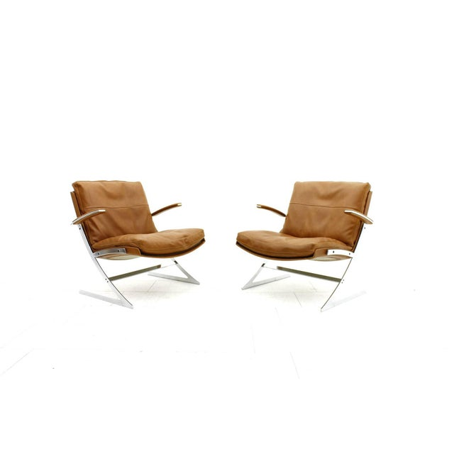 Pair of Lobby Lounge Chairs by Preben Fabricius for Arnold Exclusiv, 1972 For Sale - Image 11 of 11